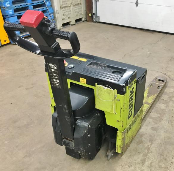 "2012 Clark EWP 45 Electric Pallet Jack, 4500 lb. Lift Capacity, 48"" Forks, Very Good Condition"