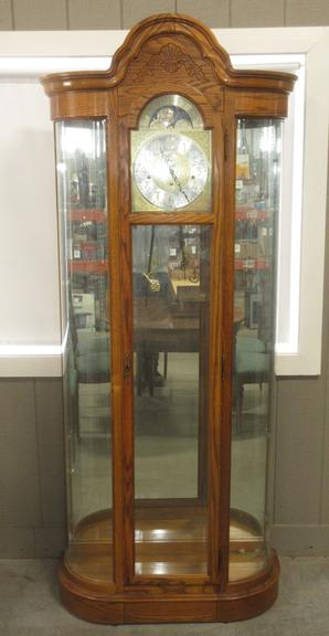 Howard Miller Curio Grandfather Clock