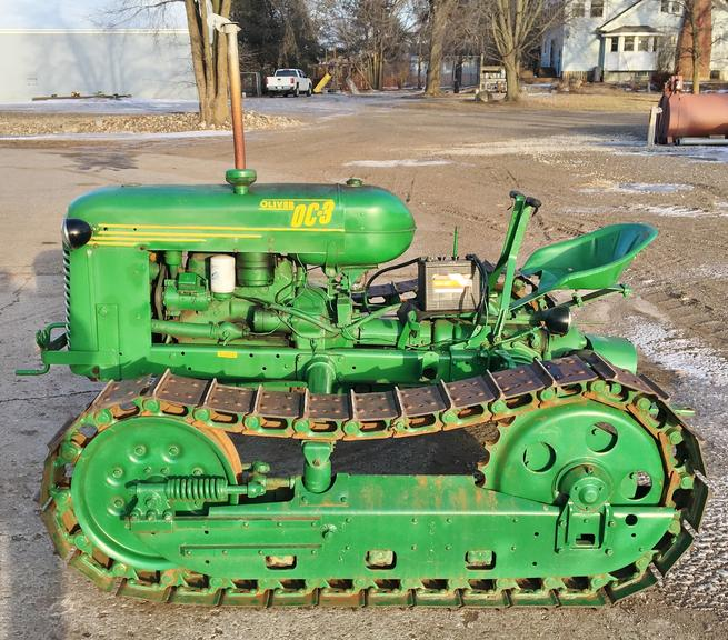 "Oliver HG Cletrac Crawler, 68"" Wide Stance, Runs Great, Excellent Condition"
