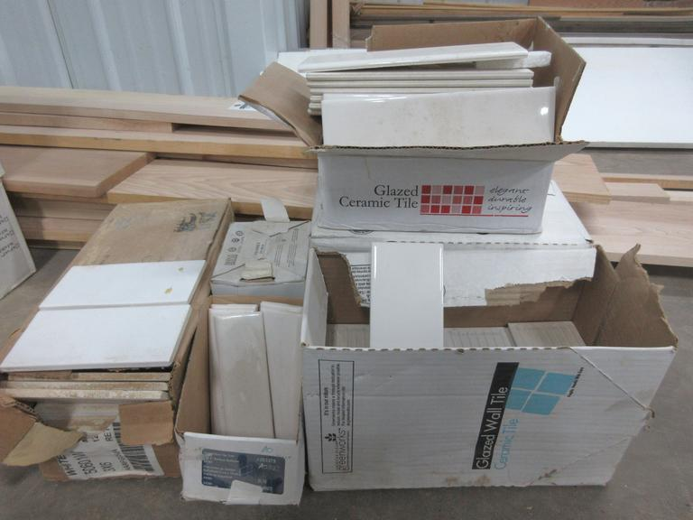 Assortment of Subway Tile with Bullnose, Approx. 25 Sq. Ft.