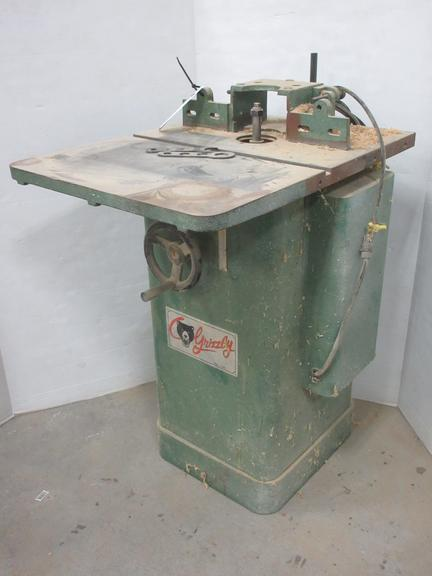 Grizzly 1 1/2 HP Shaper