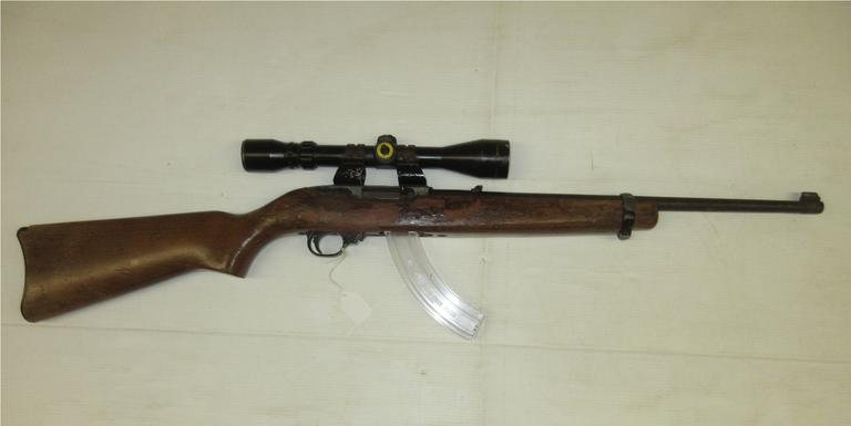Albrecht Auctions | Ruger 10/22  22 LR, Comes with a 25