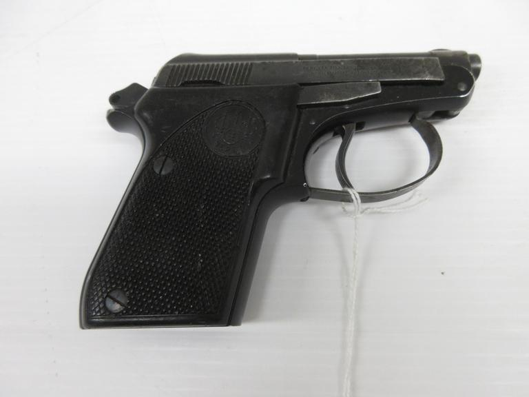 Beretta 21A .22 LR, American Made with Tip-Up Barrel so the Racking Side is Optional, Small, No Magazine Included