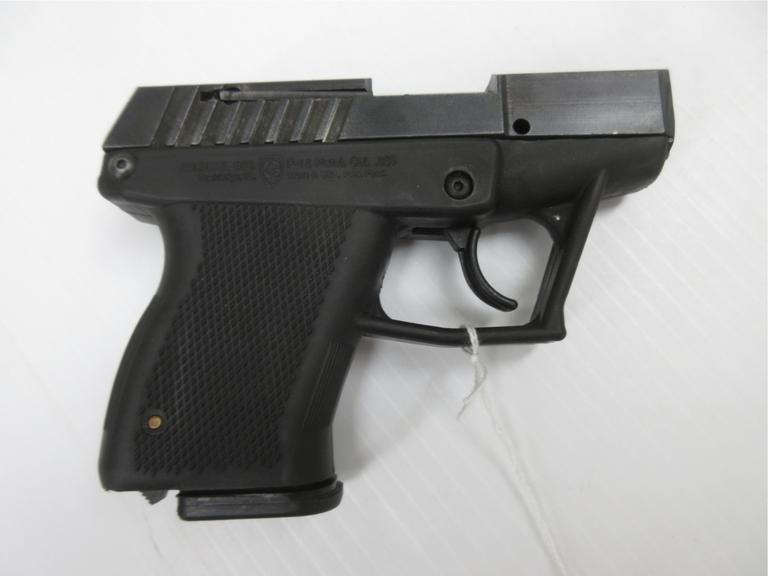 Grendel P-12 .380 ACP, Lightweight, Light Kicking, Double Stack Polymer Handgun, Made in Florida in the 1990s