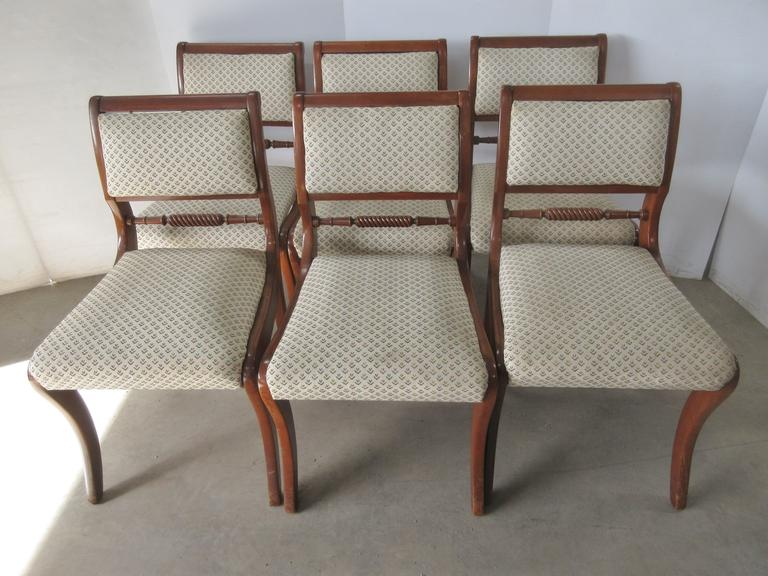 (6) Willett Chairs, Matches Lot No. 37