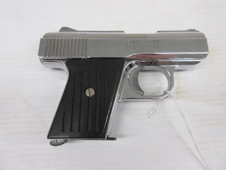 Albrecht Auctions | Phoenix Arms Raven  25 Auto, American