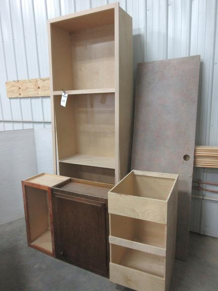 Assorted Cabinets and Countertop