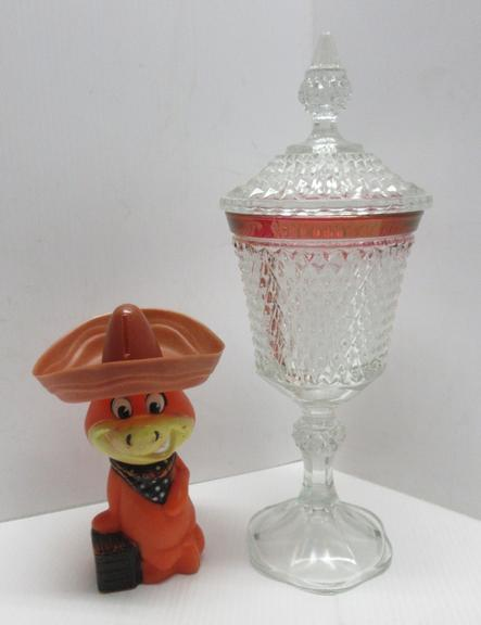 Knickerbocker Money Crystal Candy Vase