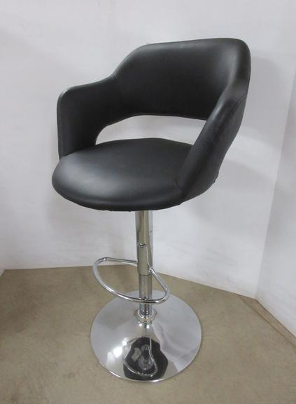 Salon Chair, Adjustable Height