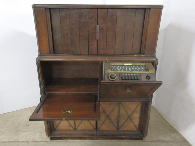 RCA Victor Radio Cabinet, Originally had TV and Turntable, Seller States Retailed for $795 in 1947
