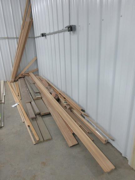 Misc. Oak and Barn Wood Trim Pieces