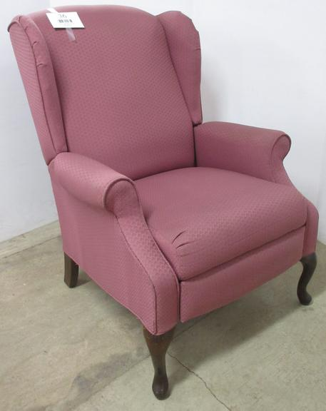 Victorian Wingback Chair/Recliner