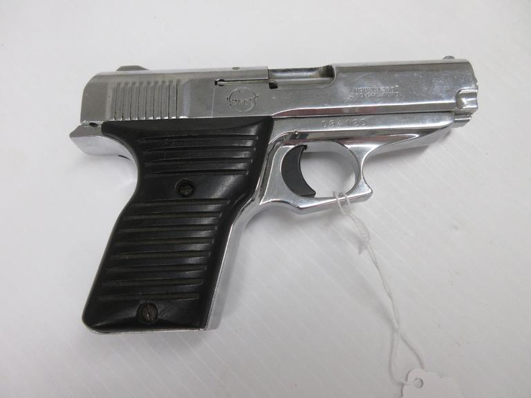 Lorcin L380 .380 ACP, Chrome Plated, Medium Size, Caliber and Recoil, No Magazine Included