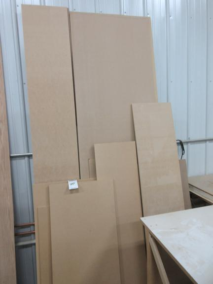 Assorted Sheets of MDF Sheets