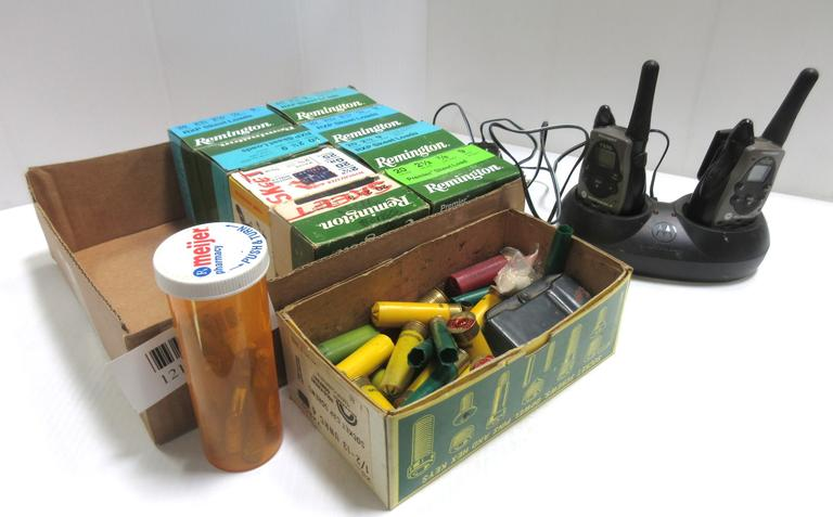 Albrecht Auctions   (8) Full Boxes of 20-Gauge Ammo, (9) Shot Skeet