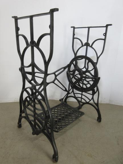 Cast Iron Sewing Machine Frame with Great Design Lines