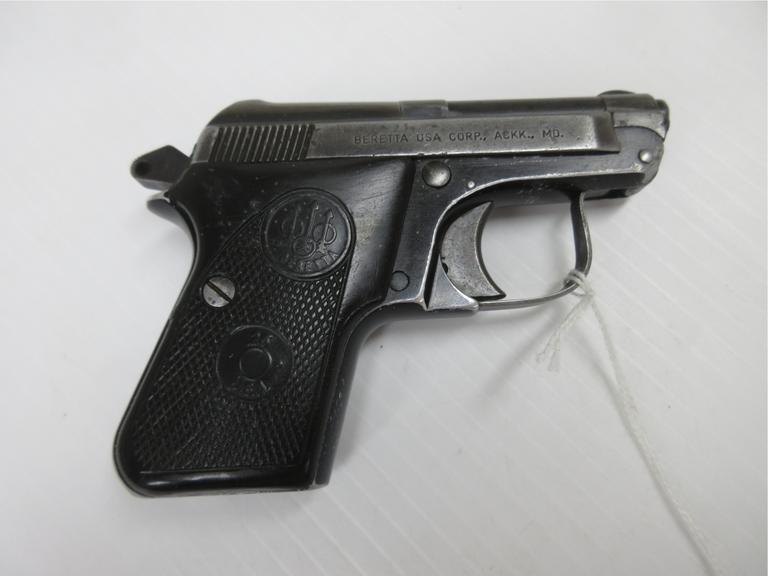 Beretta 950BS .25 ACP, Well Made Pocket Gun