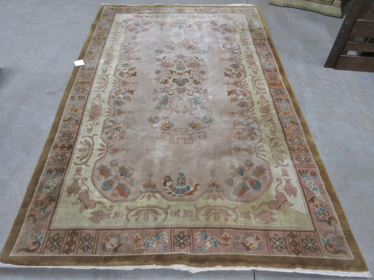 Thick Wool Area Rug