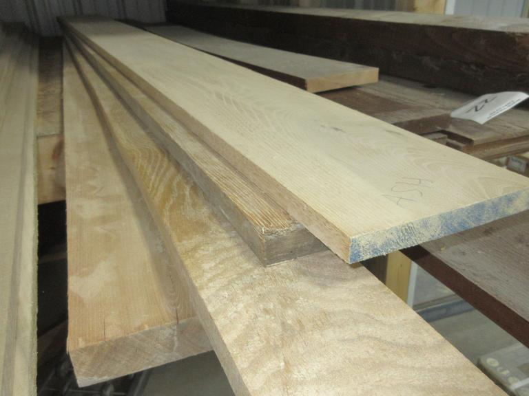 Assorted Hardwood Ash and Hickory Boards