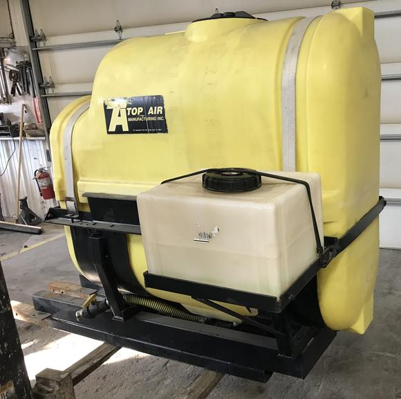 (2) 250-Gallon Saddle Tanks with Brackets, Good Condition