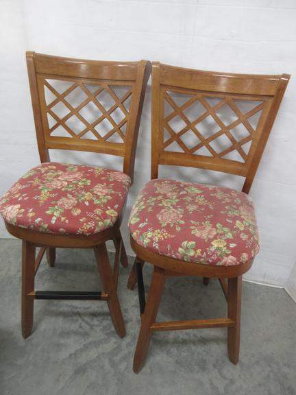 (2) Swivel Chairs