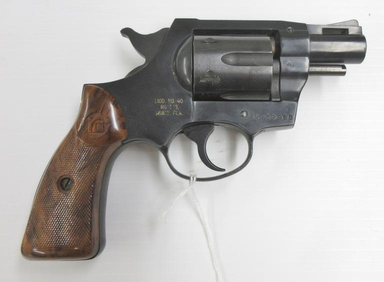 RG Industries Model RG 40 Revolver, .38 Caliber