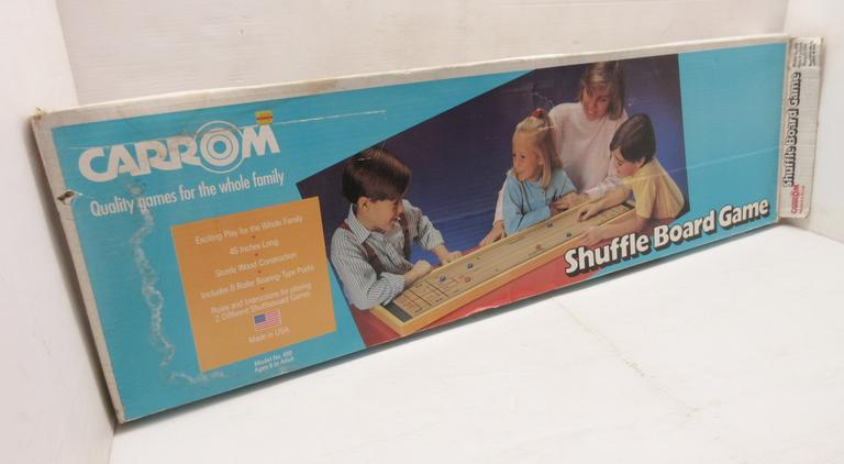 Older Shuffleboard Game