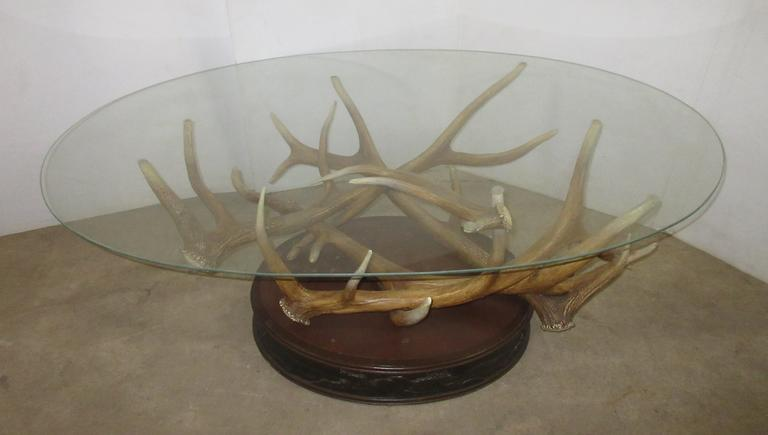 Big Sky Carvers Collectible Coffee Table, Seller States Piece is Not Made Anymore