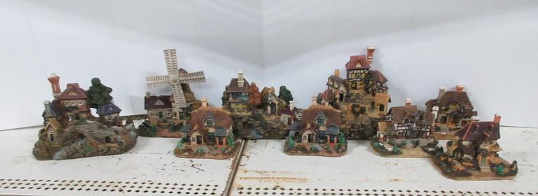 (9) Detailed House Villages