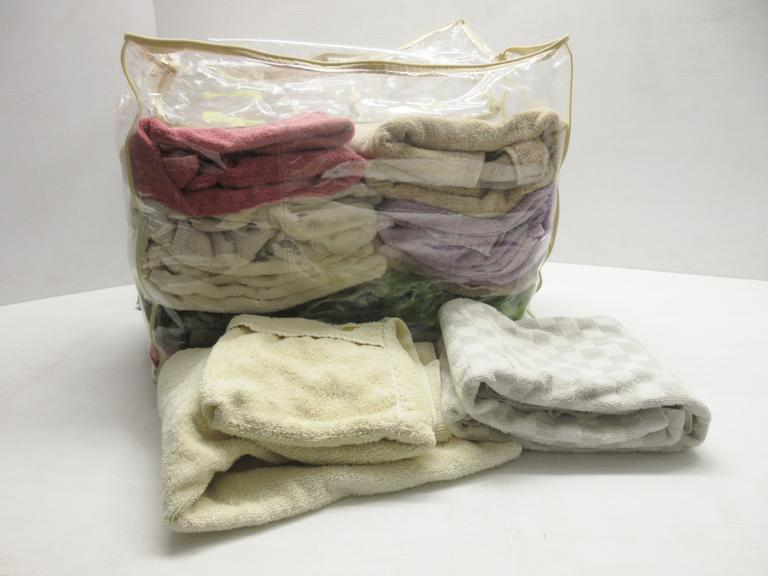 King Size Bag of Towels, Great for Shop Towels
