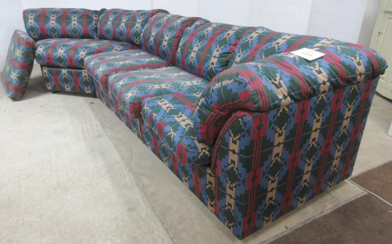 Two-Piece Couch with Pull-Out Bed