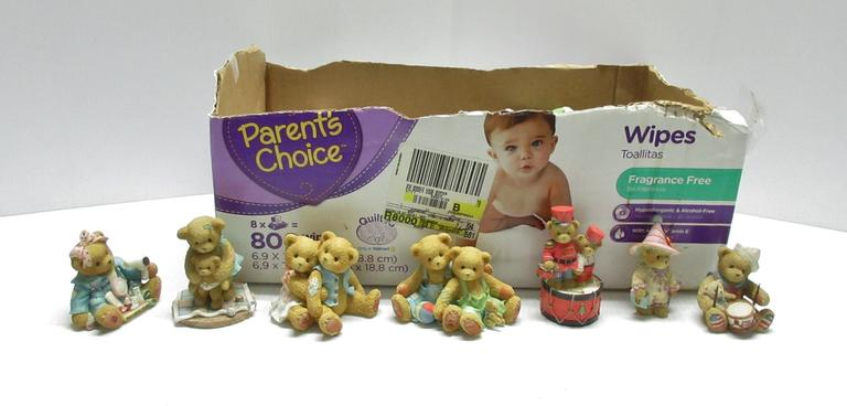(20) Numbered Cherished Teddies