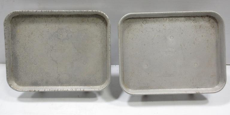 Drive-In Folding Food and Beverage Trays, Possibly from A&W or Richie's Drive-In, (Jiffy Curb Service) from the 1950s