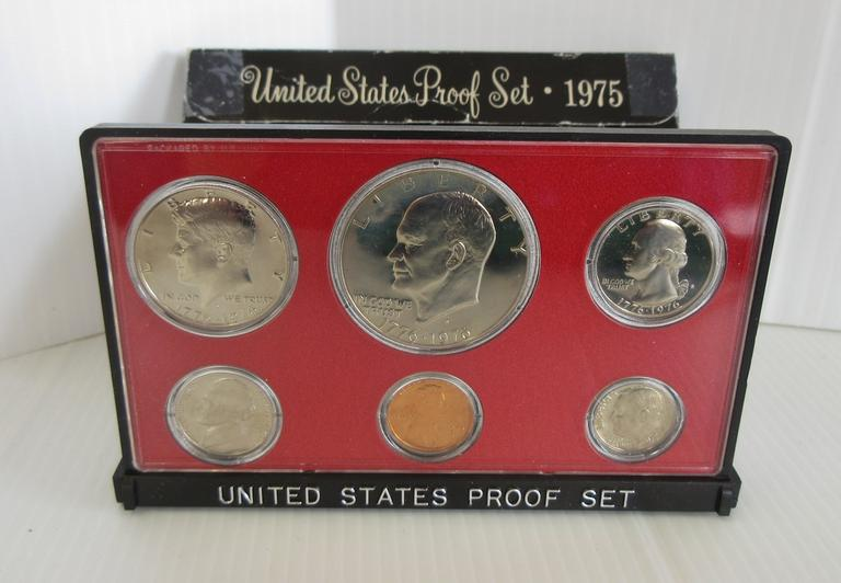 1975-S US Mint Six-Coin Proof Set