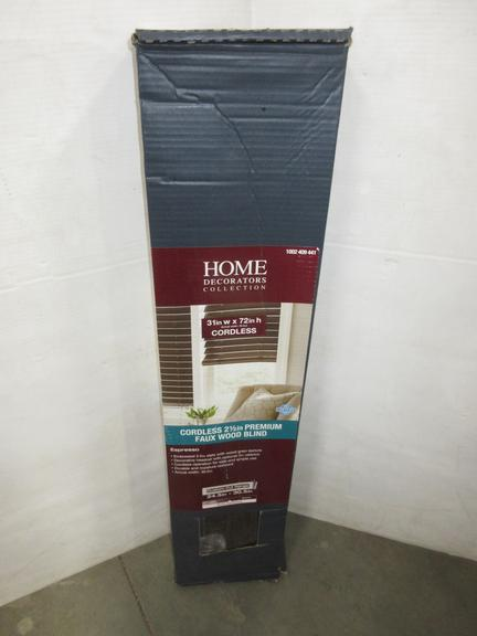 Albrecht Auctions Home Decorators Collection Cordless 2 1 2