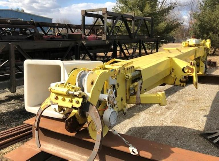 2001 Altec D947-TC Boom, S/N:  1000BA2622, Altec Hydraulic Boom with Auger Attachment, Man Baskets and Winch