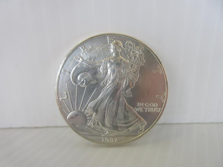 1997 Silver Eagle 1 oz. Silver Dollar Coin