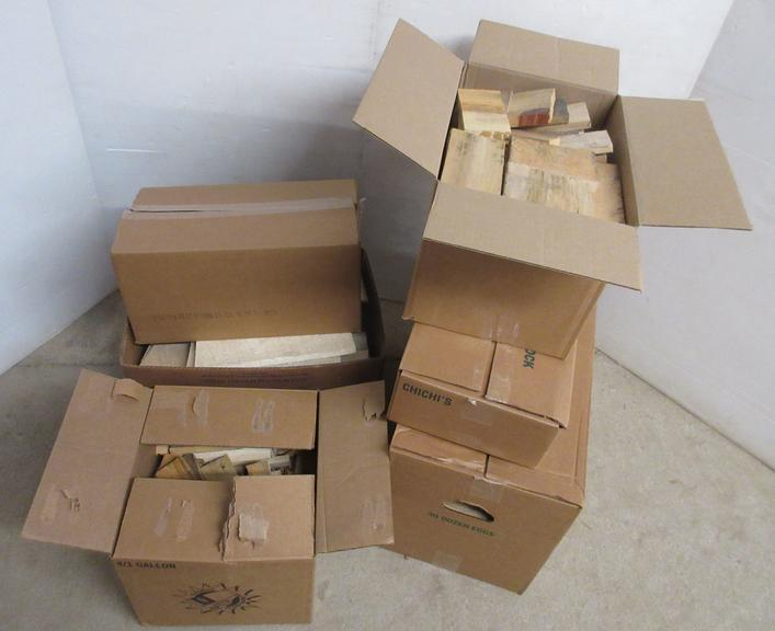 Misc. Boxes of Scrap Wood, Various Sizes
