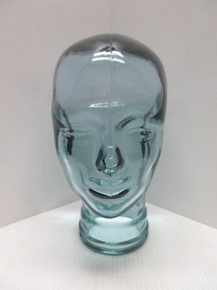 Spanish Made Glass Full Size Head for Display