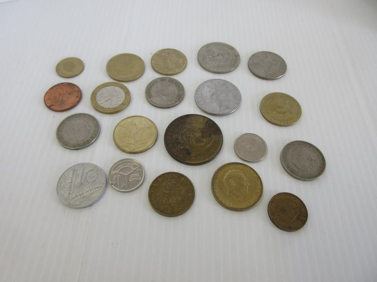 (20) Misc. Foreign Coins
