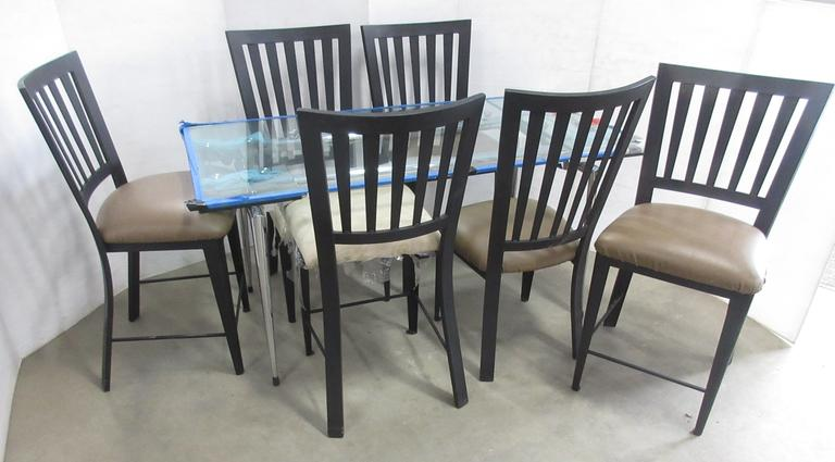 Dining Room Table Set, Includes; (2) Chairs, (4) Stools, and a Table