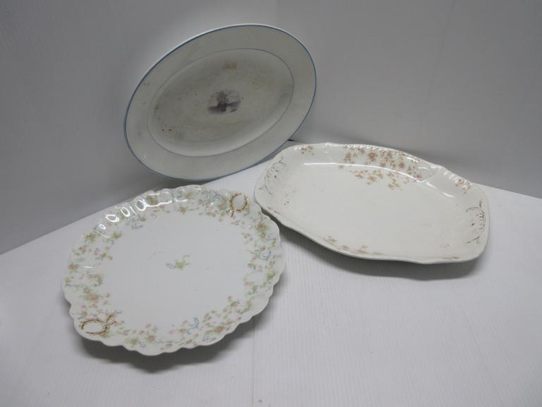 (3) Decorative Platters