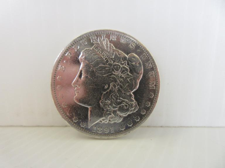 1891-O Morgan Silver Dollar Coin