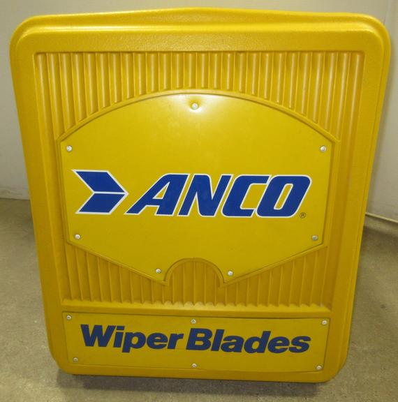 Older Gas Station Anco Wiper Blades Plastic Cabinet