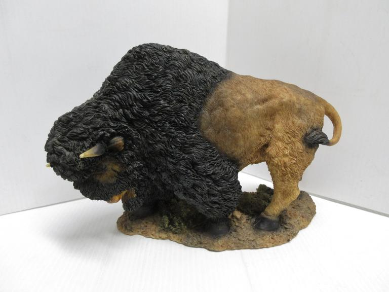 Large Size Buffalo/Bison Statue