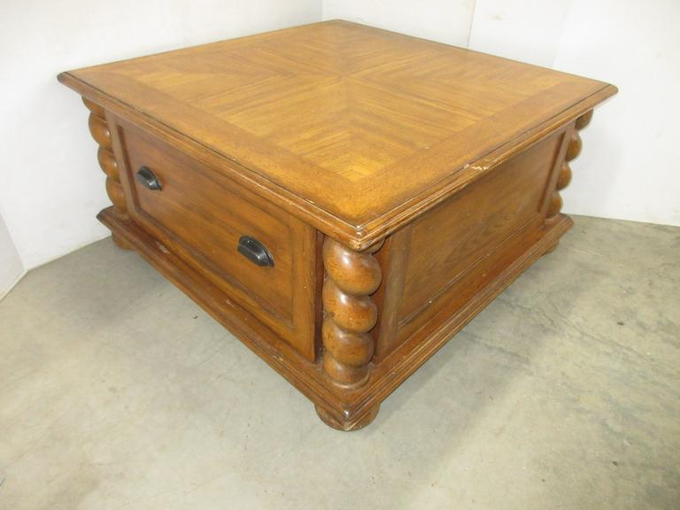 Solid Wood Eddie Bauer Edition Coffee Table with Two Large Drawers