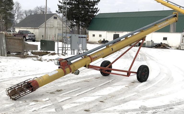 "Westfield 10"" x 31' Auger, PTO, Very Little Use"