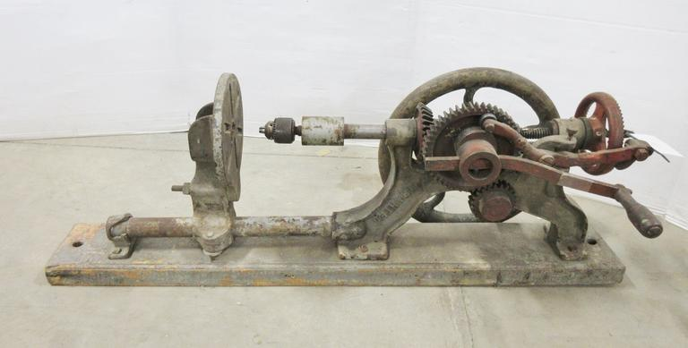 Albrecht Auctions | Antique Drill Press, Champion Blower and