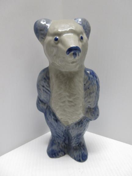 Salt Glazed Bear Statue