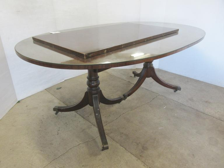 Duncan Phyfe Table and Leaf, Matches Lot No. 23